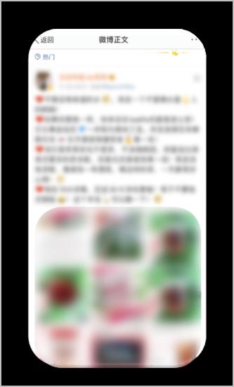 小紅書 (RED) の投稿例