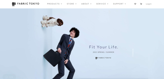 FABRICTOKYO公式サイト